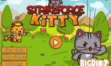 Онлайн игра Strike Force Kitty